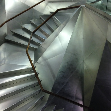 Escalera CaixaForum