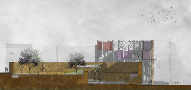 'Materiales Modernos' ~ Habitar la ruina
